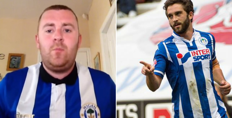 Will Grigg chant by Sean Kennedy